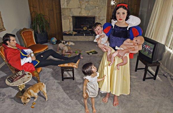 princesse_dechue par Dina Goldstein