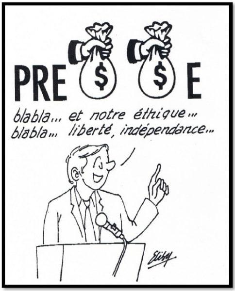Presse et argent